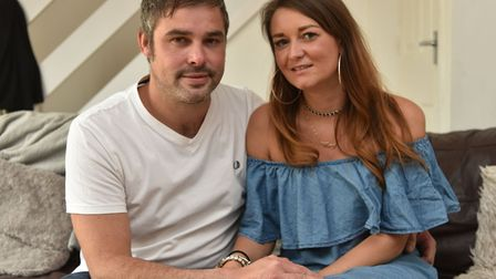Hollie and Carl Elliston from Oulton Broad will be holding a charity event to raise money for the Lu