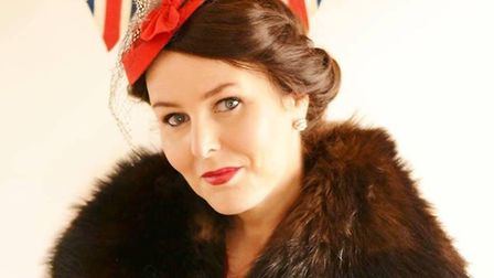 Singer Betty Bluebird, who will perform at the 1940 Festival Weekend in Lowestoft. Pictures: Courtes