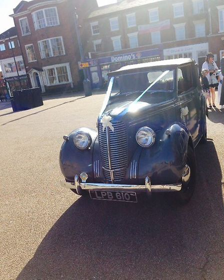 A Hillman Minx vintage car will be displayed at the 1940s Festival Weekend in Lowestoft. Pictures: C