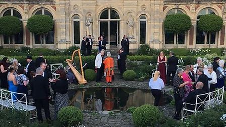 The Help for Heroes Ball at Somerleyton Hall.