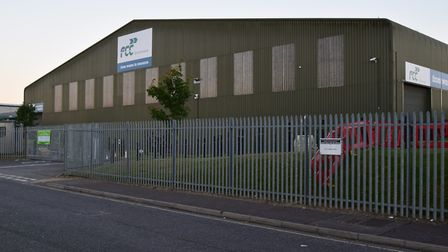 The recycling centre in Hadenham Road, Lowestoft.