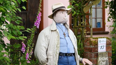 A scene from the inaugural Lound Scarecrow Trail at the festival last year. Picture: James Bass