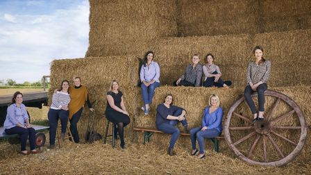 The East of England Co-op has commissioned a portrait of 10 women shaping the futire of food product