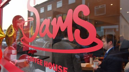 Sams Coffee House on Bevan Street East. Picture: James Bass