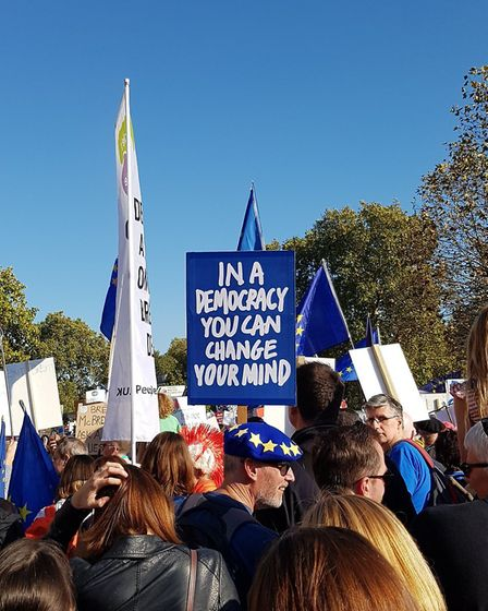People's Vote March - Niki on Twitter