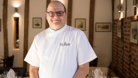 Keith Parton, head chef and manager of Ivy House Country Hotel in Oulton Broad. Picture: TMS Media.
