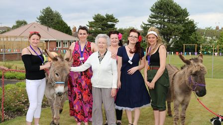 A previous open day at Britten Court care home