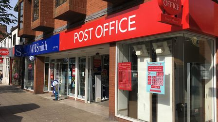 The post office in London North Road, Lowestoft, recognised with award nomination. Picture: Archant