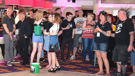 The crowds at K Fest The Finale in Lowestoft. Pictures; Mick Howes