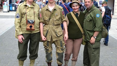 Lowestoft 1940s Festival Weekend. Pictures: Mick Howes