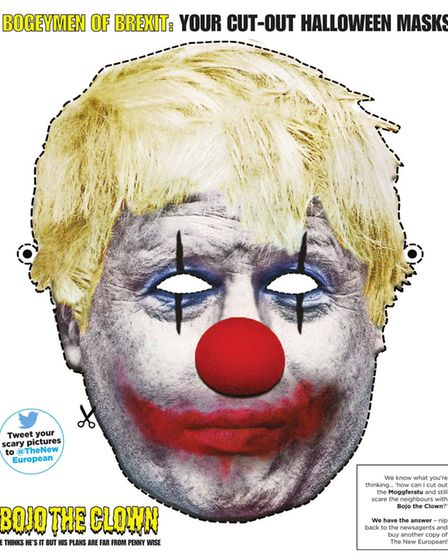Bojo The Clown, who thinks he's It but whose plans are far from penny wise...