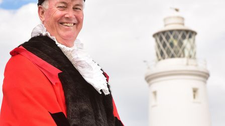 Matthew Horwood, mayor of Southwold. Picture: Nick Butcher.