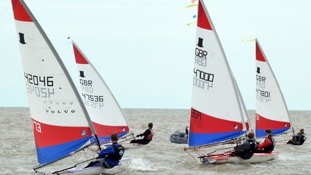 Two days of quality racing took place in Lowestoft over the weekend. Photo: Mick Howes