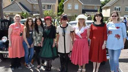 A vintage fair at Kirkley Manor nursing home in Lowestoft was hailed a success. Pictures: Gordon Pow