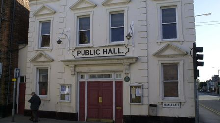 Beccles Public Hall will host the Activities4me project later this month. Photo: Bill Darnell.