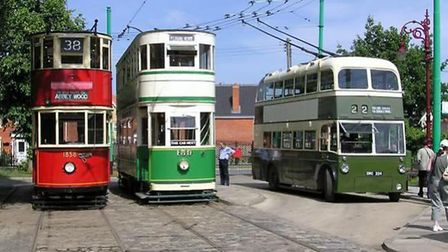 New buildings would be constructed to accommodate more trams, trolleys and buses. Photo: East Anglia