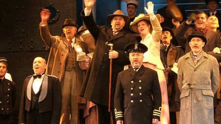 Lowestoft Players' performance of Titanic. Picture: Lowestoft Players.