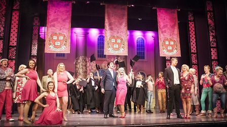 Lowestoft Players' performance of Legally Blonde. Picture: Lowestoft Players.