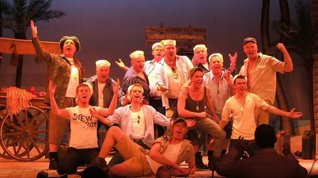 Lowestoft Players' performance of South Pacific. Picture: Lowestoft Players.
