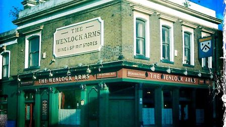 The Wenlock Arms in Wenlock Street which could face the bulldozers if planning permission is obtaine