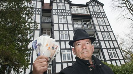 Saul Zadka pictured at the Holly Lodge Estate in Highgate. Camden Council has launched a scheme to p