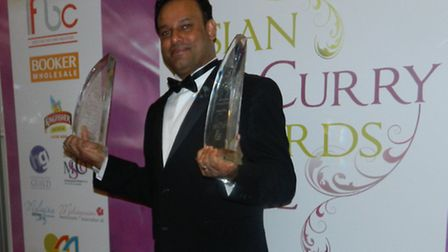 Sabbir Karim has been named best chef in the British Curry Awards and the Asian Curry Awards.
