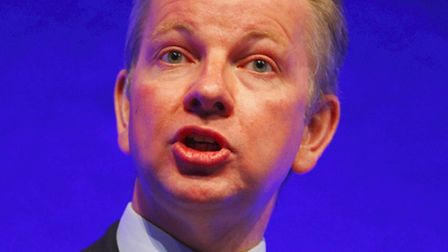 Education secretary Michael Gove announced the government's English Baccalaureate plans last year. P