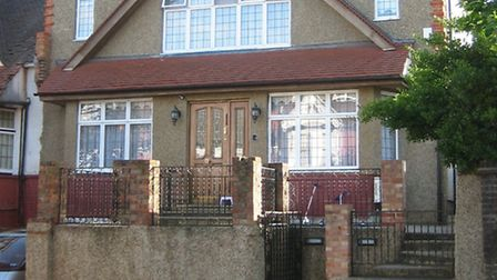 A house in Stamford Hill which has been extended up one storey