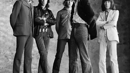 Peter Webb photographed the Rolling Stones for the Sticky Fingers album cover. Picture: Peter Webb