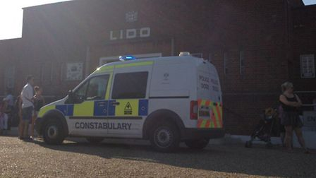 Police close Hampstead Heath Lido after double stabbing Photo by Neil Barker