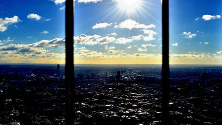 Haider's photo taken from the top of the BT tower