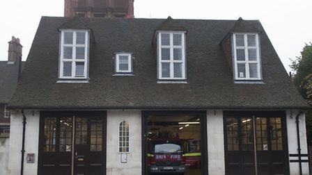 Belsize Fire station is earmarked for closure. Picture: Nigel Sutton