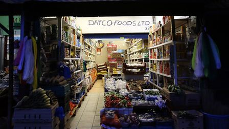 General view of the Dato store on Ridley Road