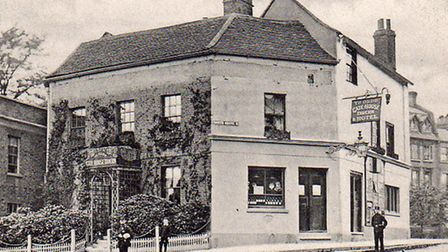 The Gate House in Highgate, circa 1900. Picture: Michael Hammerson