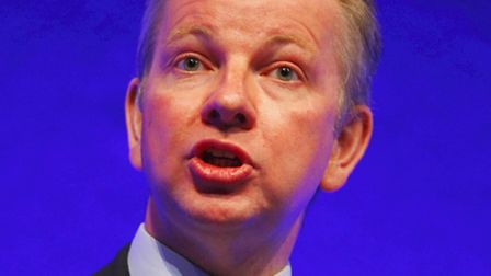 Michael Gove announced the plans to retain GCSEs today. Picture: PA/Chris Ison.