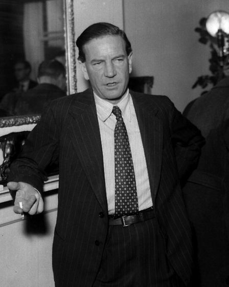 Double agent Kim Philby of the Cambridge Five spy ring at the British Embassy in Washington DC
