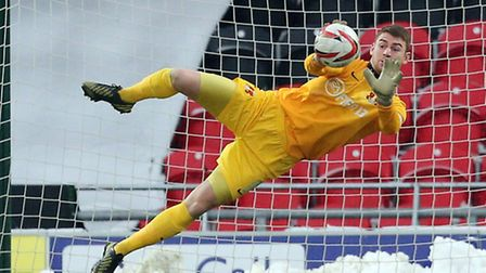 Jamie Jones kept a clean sheet in Leyton Orient's 0-0 draw with Swindon Town on Tuesday. Pic: Simon