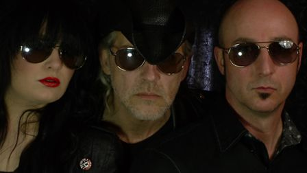 Keyboard player Lou Dawson, lead singer Ivan Doroschuk and guitarist James Love from Men Without Hat