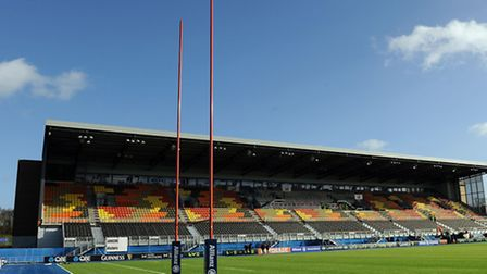 Allianz Park, the new home to Saracens
