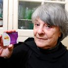 Joan Safran with her Nectar card. Picture: Polly Hancock