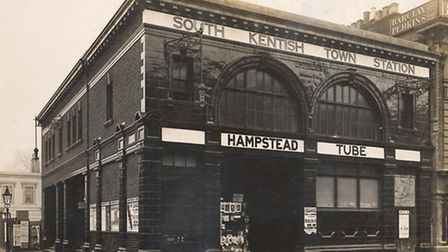 South Kentish Town Underground station, Northern Line. Picture: London Transport Museum