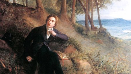 Joseph Severn's painting of Keats 'Listening to the Nightingale on Hampstead Heath', c1845. Picture: