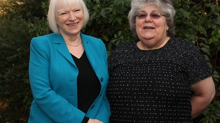 Dawn Gill, left, and Dame Anna Hassan are founding members of the London Education Associates Founda