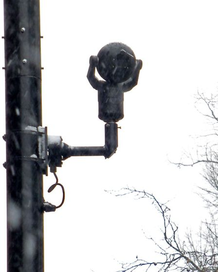 Arvind Mistry who owns Belsize Stationers in South End Rd claims traffic cameras outside his shop ar