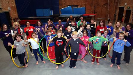 The NCDS group at Circus Space