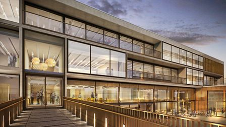 The nursery will take up the third floor of the new Jewish Community Centre building in Finchley Roa
