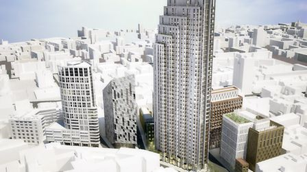 A 39-storey building has been approved at 145 City Road. This will make it the tallest building in H