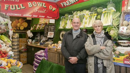 Pure Fruit in Heath Street is owned by Brian Lay-Jones and Daughter Deana Camera. Their shop is owne