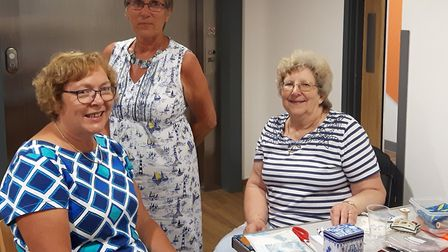 Members of the Pakefield Patchers community group, one of the organisations which people could be si
