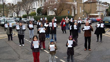 Residents around Rectory Road campaigned against a proposed CPZ in their area in January
